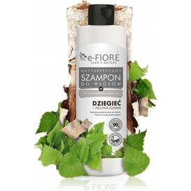 E-FIORE Szampon dziegciowy z zieloną glinką do włosów tłustych, 250 ml