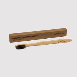 Zew for Men Bambusowa szczoteczka do zębów z węglem aktywnym