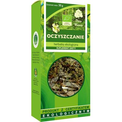 Herbata ekologiczna - Oczyszczenie Dary Natury