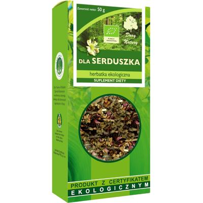 Herbata ekologiczna - Dla serduszka  Dary Natury