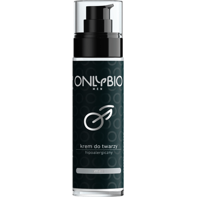 Krem do twarzy dla mężczyzn - hipoalergiczny OnlyBio