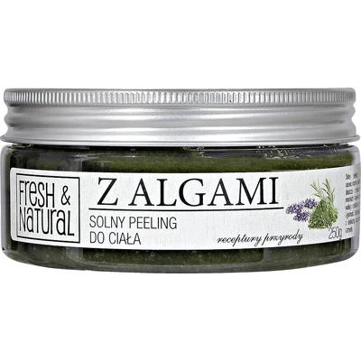 Solny peeling do ciała - Z algami Fresh&Natural