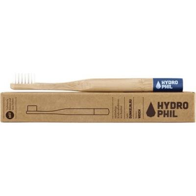 Naturalna bambusowa szczoteczka do zębów dla dzieci - niebieska Hydrophil