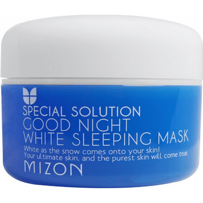 Good Night White Sleeping Mask - Wybielająca maska na noc Mizon