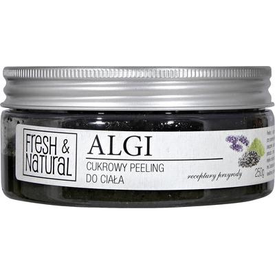 Cukrowy peeling do ciała - Z algami Fresh&Natural