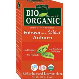 Indus Valley Organiczna farba do włosów na bazie henny - Kasztanowy