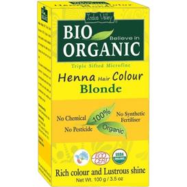 Indus Valley Organiczna farba do włosów na bazie henny - Blond