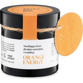 Make Me Bio Orange Energy - Nawilżający krem dla skóry normalnej i wrażliwej 60 ml