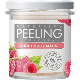 E-FIORE Naturalny malinowy peeling cukrowy z masłem shea