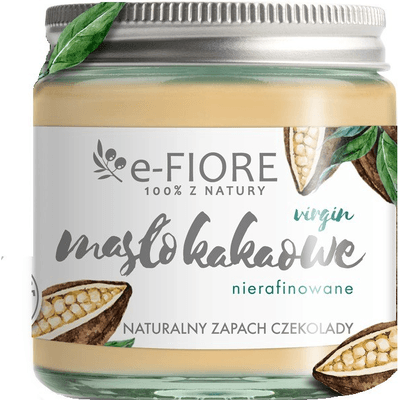 Masło kakaowe nierafinowane E-FIORE