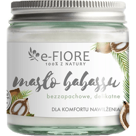 E-FIORE Masło babassu bezzapachowe, 120 ml
