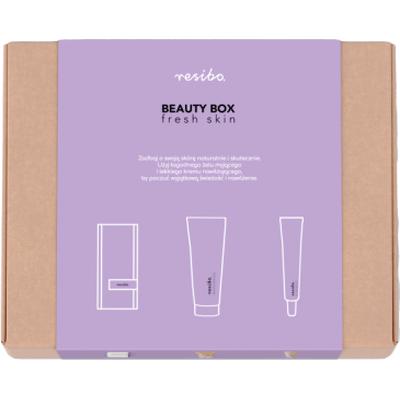 Beauty Box - Fresh skin - zestaw odświeżający Resibo