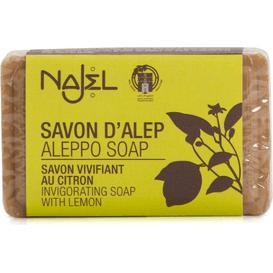 Najel Mydło Aleppo 12% oleju laurowego - Cytryna, 100 g