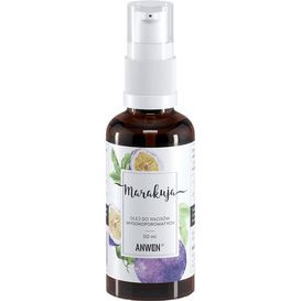 Anwen Olej do włosów wysokoporowatych - Marakuja, 50 ml