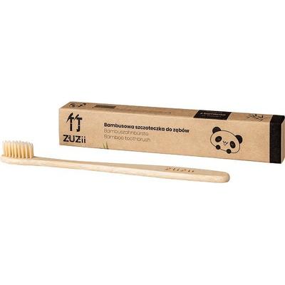 Szczoteczka do zębów dla osoby dorosłej - beżowa - włosie miękkie Zuzii