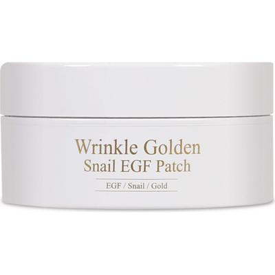 Wrinkle Golden Snail EGF Patch - hydrożelowe płatki pod oczy ze śluzem ślimaka Mizon