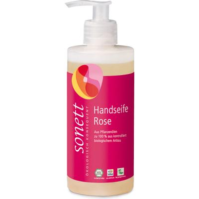 Ekologiczne mydło różane w płynie Sonett