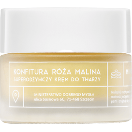 Ministerstwo Dobrego Mydła Krem do twarzy - Konfitura - Róża z maliną, 50 ml