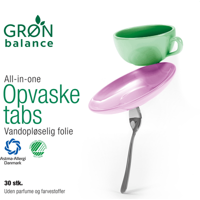 Ekologiczne tabletki do zmywarek Gron Balance