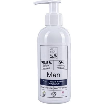 Active Organic - Płyn do higieny intymnej dla mężczyzn Derma