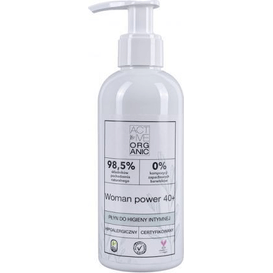 Derma Active Organic - Płyn do higieny intymnej - Woman Power 40+, 200 ml