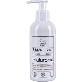 Derma Active Organic - Płyn do higieny intymnej - Hialuronic, 200 ml