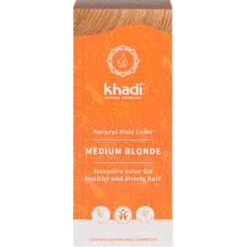 Khadi Henna naturalna - Średni blond