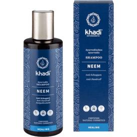 Khadi Przeciwłupieżowy szampon do włosów - Neem i rozmaryn