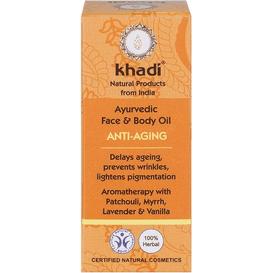 Khadi Przeciwzmarszczkowy olejek do twarzy z olejem migdałowym