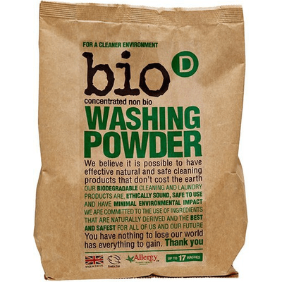 Skoncentrowany, hipoalergiczny proszek do prania Produkty less waste