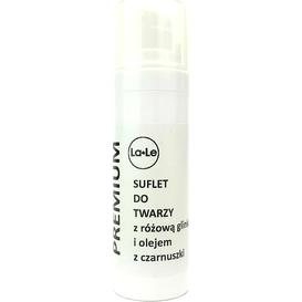 La-Le Kosmetyki Suflet do twarzy z różową glinką i olejem z czarnuszki, 30 ml