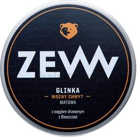 Zew for Men Glinka do włosów z węglem drzewnym, 100 ml