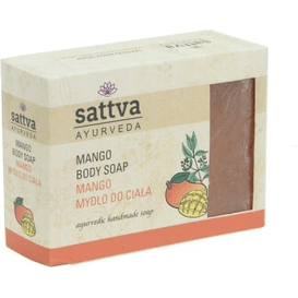 Sattva Ayurveda Mydło glicerynowe - Mango, 125 g