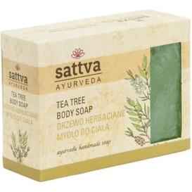 Sattva Ayurveda Mydło glicerynowe - Drzewo herbaciane, 125 g