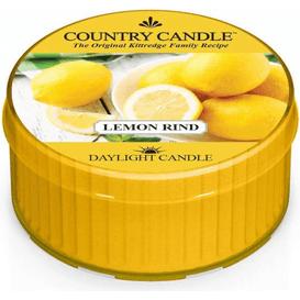 Kringle Candle Świeca zapachowa: Skórka Cytrynowa (Lemon Rind)