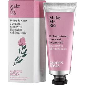 Make Me Bio Peeling do twarzy z kwasami kwiatowymi - Garden Roses