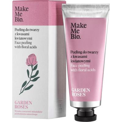 Peeling do twarzy z kwasami kwiatowymi - Garden Roses Make Me Bio
