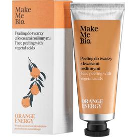 Make Me Bio Peeling do twarzy z kwasami roślinnymi - Orange Energy