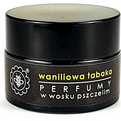 Perfumy w wosku pszczelim - Waniliowa tabaka Miodowa Mydlarnia