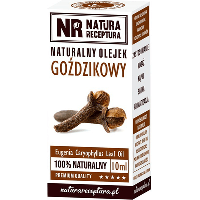 Naturalny olejek goździkowy Natura Receptura