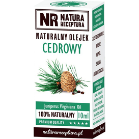 Natura Receptura Naturalny olejek cedrowy, 10 ml