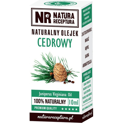 Naturalny olejek cedrowy Natura Receptura