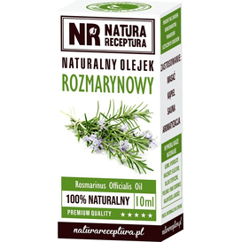 Natura Receptura Naturalny olejek rozmarynowy