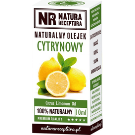 Natura Receptura Naturalny olejek cytrynowy, 10 ml
