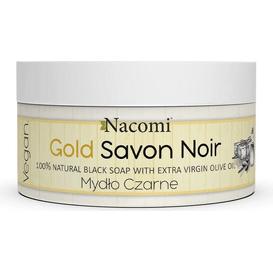 Nacomi Gold Savon Noir - Złote czarne mydło z oliwą z oliwek, 125 g