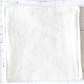 Produkty less waste Ovium - Płatek do demakijażu - duży