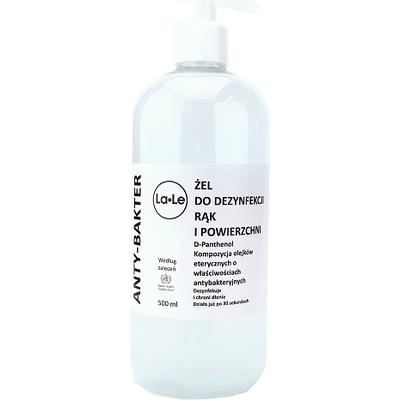 Żel do dezynfekcji rąk i powierzchni - 500ml La-Le Kosmetyki