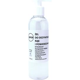 La-Le Kosmetyki Żel do dezynfekcji rąk i powierzchni (data ważności: 28.09.2021), 200 ml