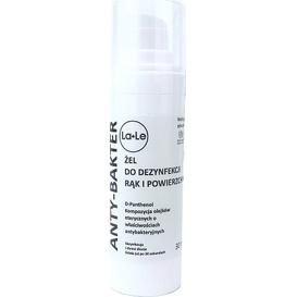 La-Le Kosmetyki Żel do dezynfekcji rąk i powierzchni - 30ml