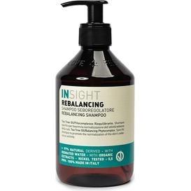 Insight Rebalancing - Szampon do przetłuszczającej się skóry głowy - Rebalancing shampoo, 400 ml